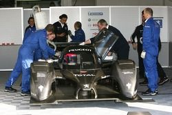 Pedro Lamy in the Peugeot 908 HDi FAP