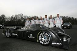 Jacques Villeneuve, Marc Gene, Pedro Lamy, Eric Hélary, Stéphane Sarrazin, Nicolas Minassian und Séb