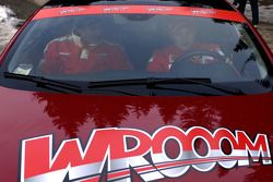Kimi Raikkonen arrives in Madonna di Campiglio