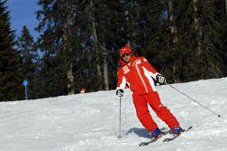 Felipe Massa, ski