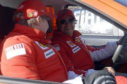 Kimi Räikkönen et Felipe Massa