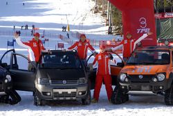 Marc Gene, Luca Badoer, Kimi Raikkonen ve Felipe Massa
