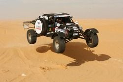 Team SMG: Philippe Gache tests the SMG Buggy