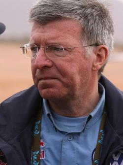 Volkswagen Motorsport engineer Jean-Claude Vaucard