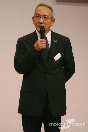 Tsutomu Tomita, Toyota Racing Yönetim Kurulu Başkanı ve Takım Patronu