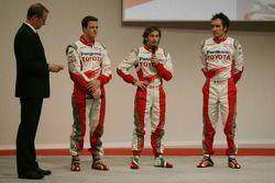 Ralf Schumacher, Jarno Trulli ve Franck Montagny