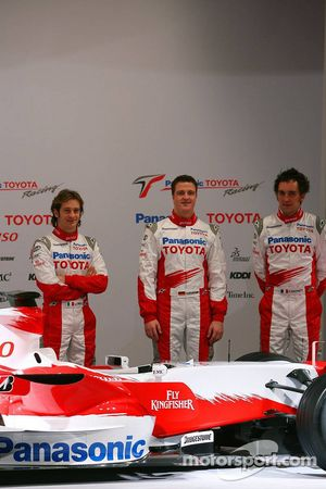 Jarno Trulli, Ralf Schumacher ve Franck Montagny