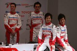 Ralf Schumacher; Franck Montagny; Kohei Hirate; Kamui Kobayashi, Toyota