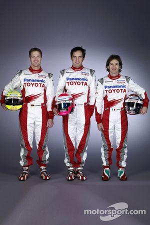 Ralf Schumacher, Franck Montagny ve Jarno Trulli