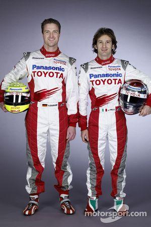 Ralf Schumacher et Jarno Trulli