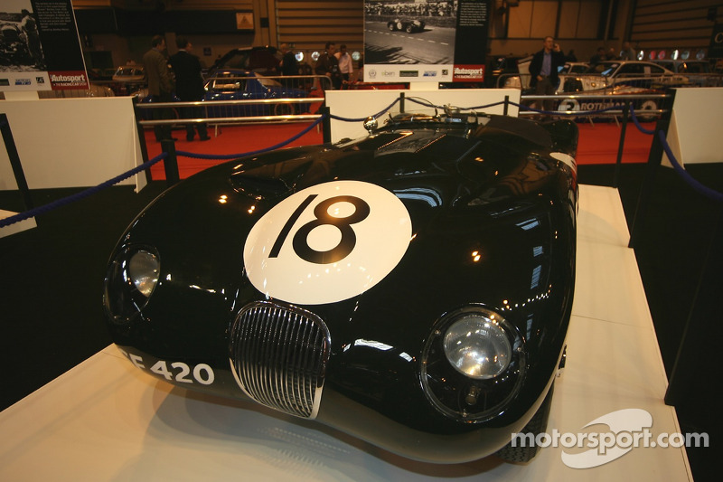 75 Years of Le Mans display: Jaguar C-type