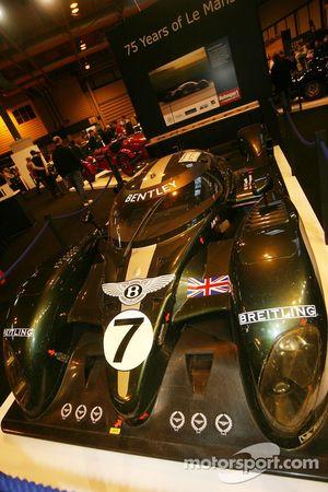 75 Years of Le Mans display: Bentley Speed 8