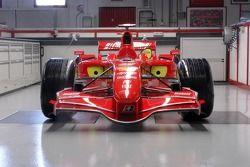 Preview of the new Ferrari F2007 in the Ferrari shop in Maranello