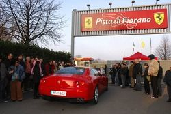 Guests arrive at Fiorano