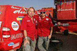 Guy Leneveu and Paul Belmondo