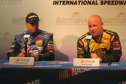 Press conference: Ted Musgrave and Todd Bodine