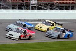 Joey Clanton, Ken Schrader, David Starr and Bill Lester