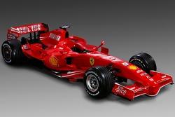 Der neue Ferrari F2007