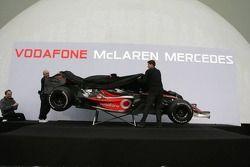 McLaren Mercedes MP4-22 is unveiled