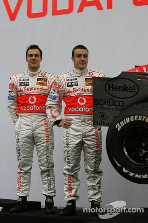 Gary Paffett und Fernando Alonso