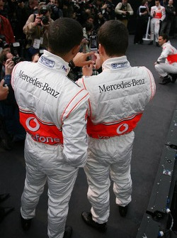 Fernando Alonso and Lewis Hamilton