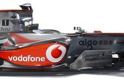 McLaren Mercedes MP4-22: Detail