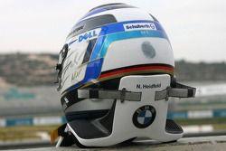Helm von Nick Heidfeld, BMW Sauber