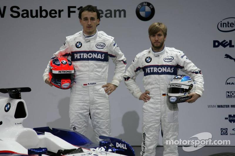 Robert Kubica ve Nick Heidfeld