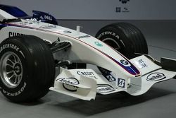 Detail of the BMW Sauber F1.07
