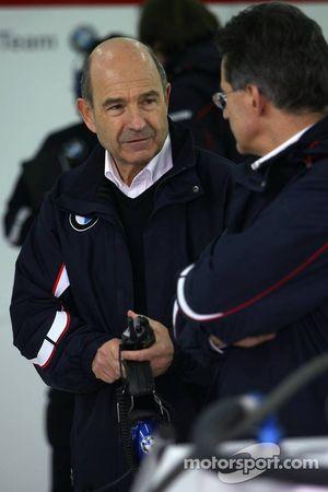 Dr. Mario Theissen und Peter Sauber, BMW Sauber