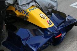 Renault F1 R27 ön kanat detay