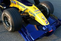 Renault F1 R27 detay