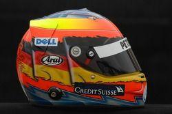 Helm von Timo Glock, BMW Sauber
