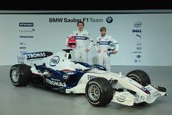 Robert Kubica and Nick Heidfeld