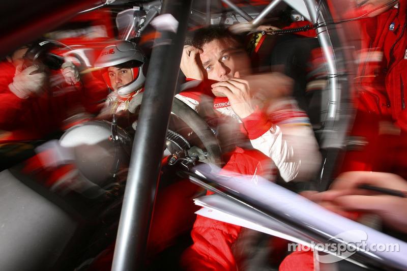 Sébastien Loeb dans la Citroën C4 WRC