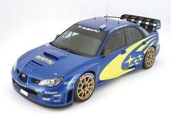 The revised Subaru Impreza WRC2006