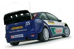 The Ford Focus RS WRC