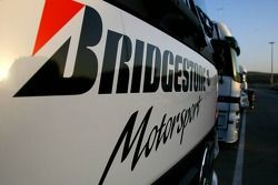 Bridgestone Motorsport truck