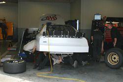 Área de garage de Roush Racing