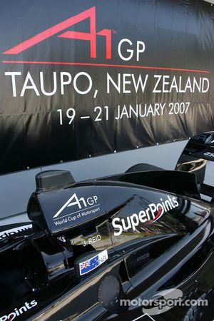 A1GP comes to New Zealand