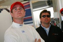 Ryan Hunter-Reay and Rick Weidinger, Seat Holder of A1Team USA