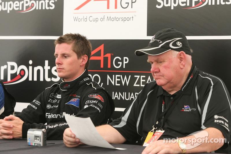 Press conference: Jonny Reid and Colin Giltrap