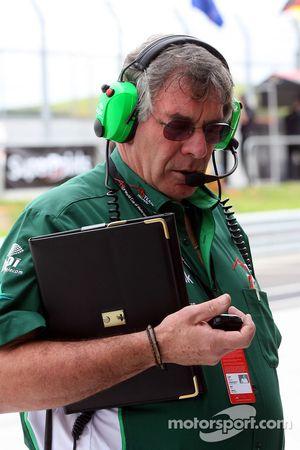 Gary Anderson, Race engineer of A1Team Ireland
