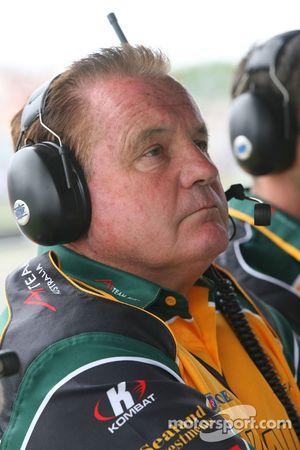 Alan Jones, détenteur de l'équipe australienne d'A1GP