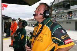 Alan Jones, Seat holder of A1Team Australia