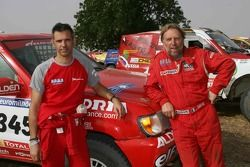 Paul Belmondo and Guy Leneveu