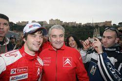 Sébastien Loeb celebrates
