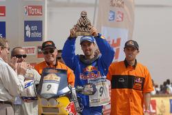 Bike category podium: Chris Blais