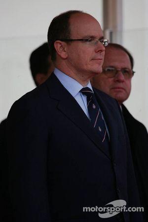 Podium: Prince Albert II of Monaco