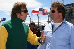 Emerson Fittipaldi and Rick Weidinger